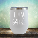 I Am 64 plus 1 - Stemless Wine Cup