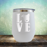 Love Pitbull - Stemless Wine Cup