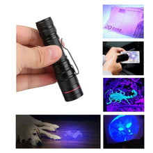 Ultraviolet UV Flashlight