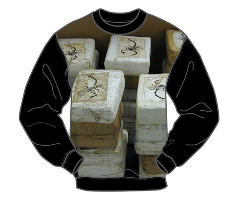 BRICKS MEN'S LONG SLEEVE CREW SHIRT