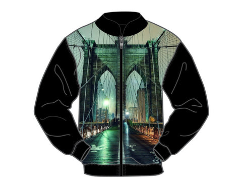 STREETZ IZ WATCHIN CITY BRIDGE TRACK JACKET