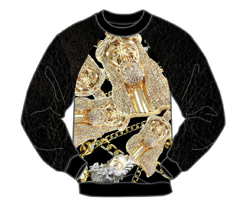 JESUS PIECE MEN'S LONG SLEEVE CREW SHIRT