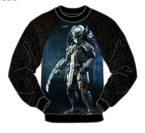 PREDATOR LONG SLEEVE MEN'S CREW SHIRT