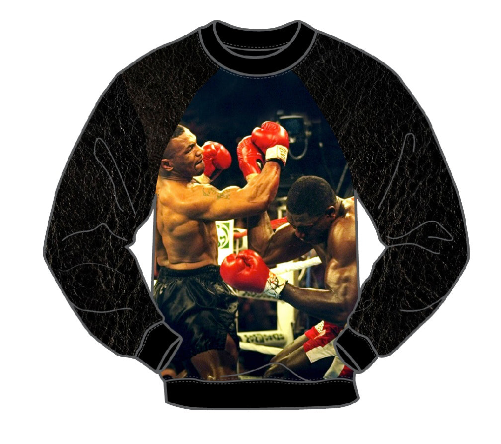 KNOCK OUT MEN'S LONG SLEEVE CREW SHIRT