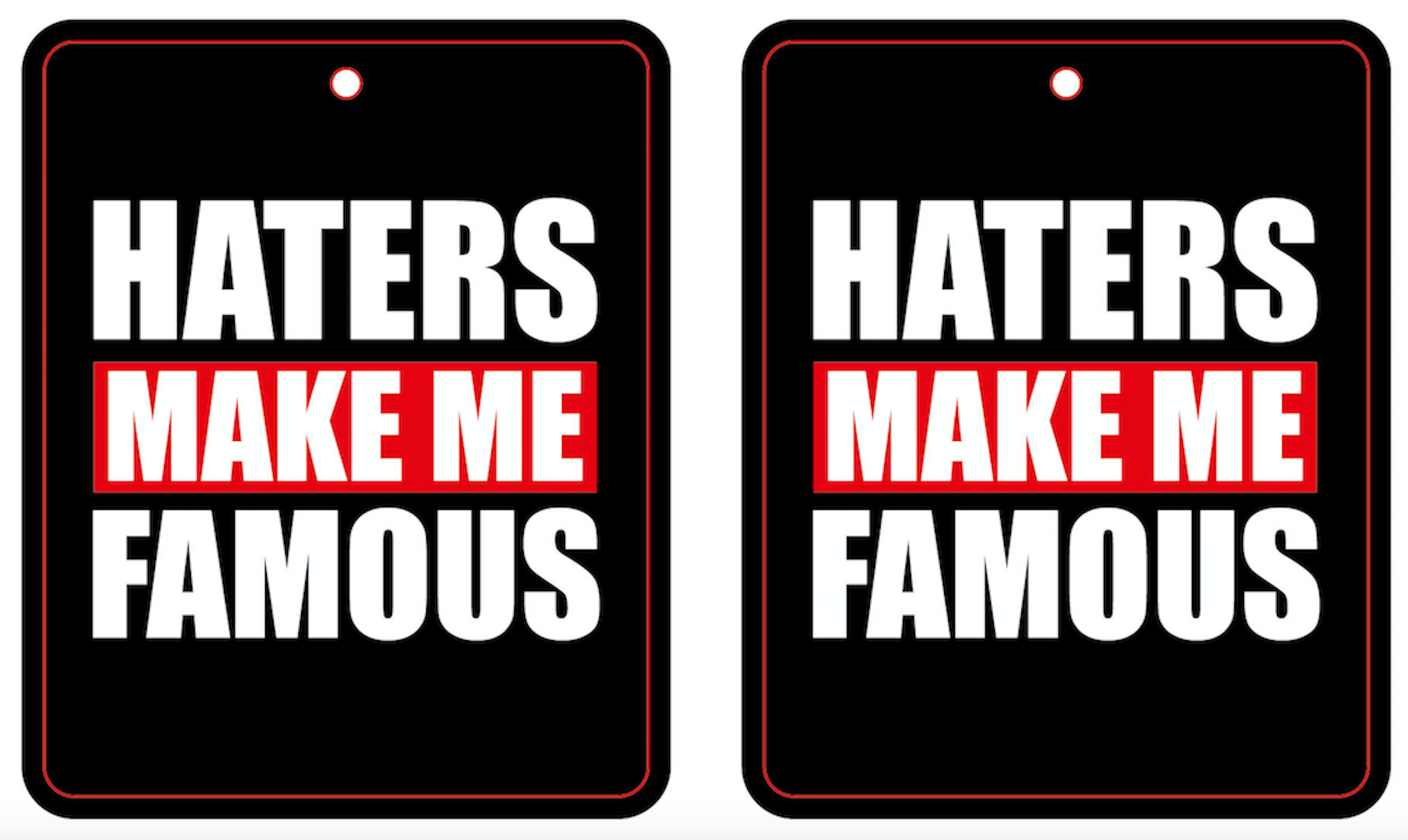 HATERS AIR FRESHENER