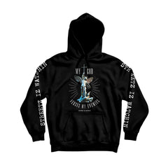 God Verse Enemies Coral Men's Comfortable Pullover Hoodie