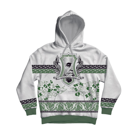 Green Comfortable Pullover Hoodie