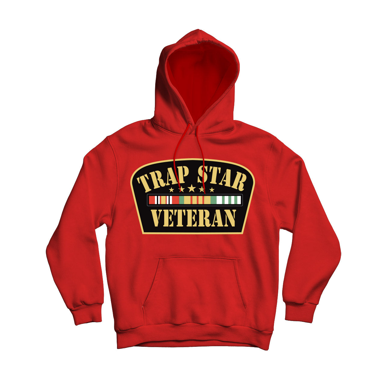 Trap Star Veteran Men's Pullover Hoodie