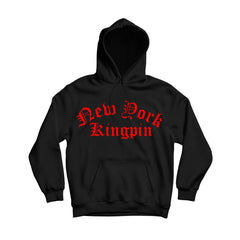 Rollup Red Men's Comfortable Lips Pullover Hoodie