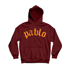 Pablo Maroon Men's Pullover Hoodie Comfortable Warm Fit