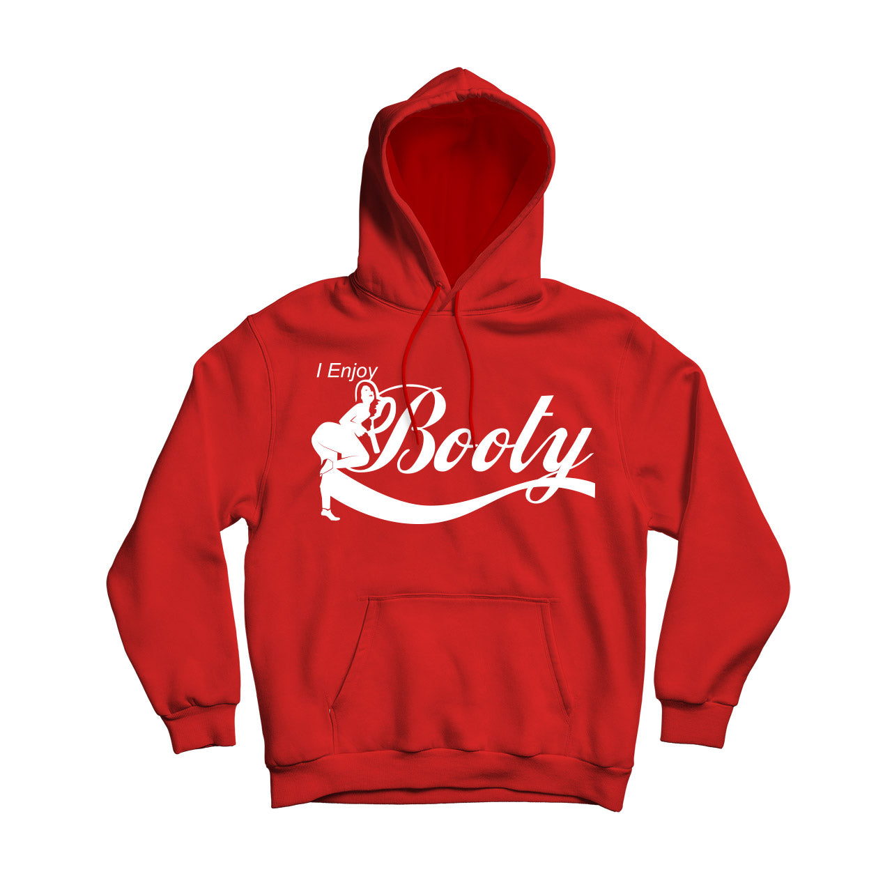 Enjoy Booty Comfortable Warm Pullover Hoodie