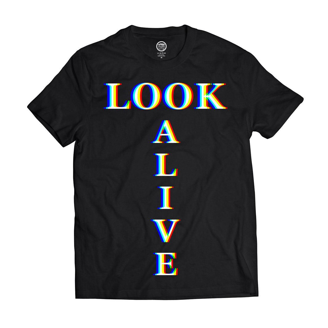 LOOK ALIVE MEN'S SHORT SLEEVE COTTON T SHIRT