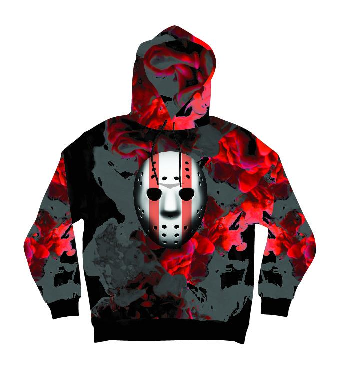 Mask Off Men's Black Hoodie