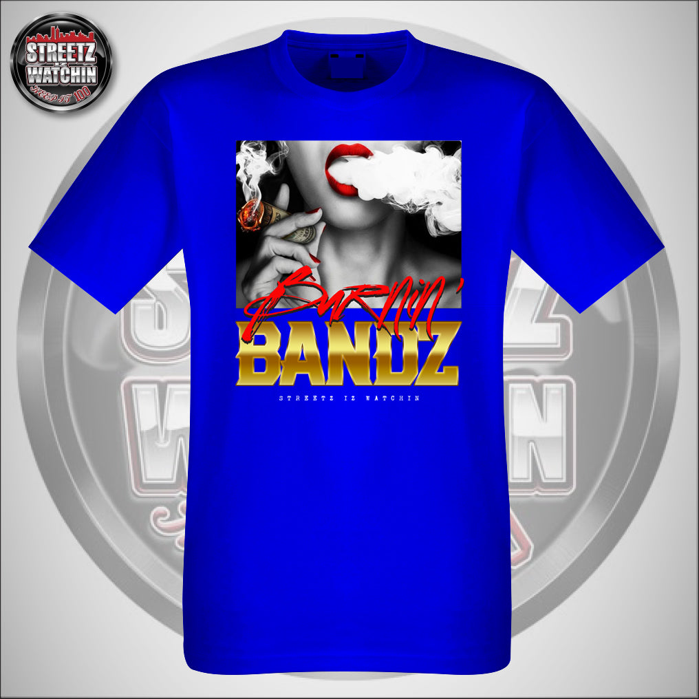 BURNIN BANDZ SHORT SLEEVE MEN'S COTTON T SHIRTS