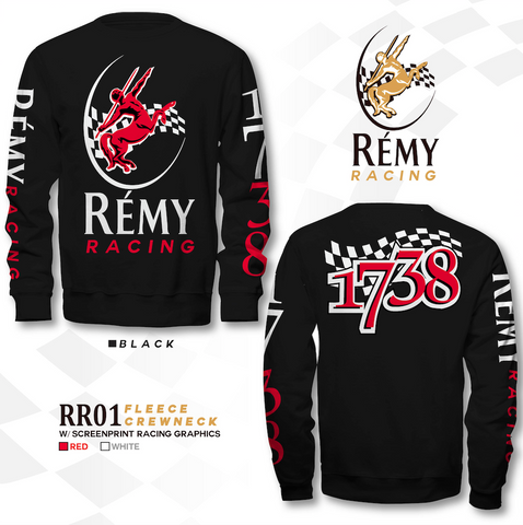 REMY RACING LONG SLEEVE CREW NECK T SHIRT