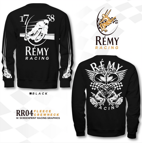 REMY RACING LONG SLEEVE CREW NECK TEE SHIRT