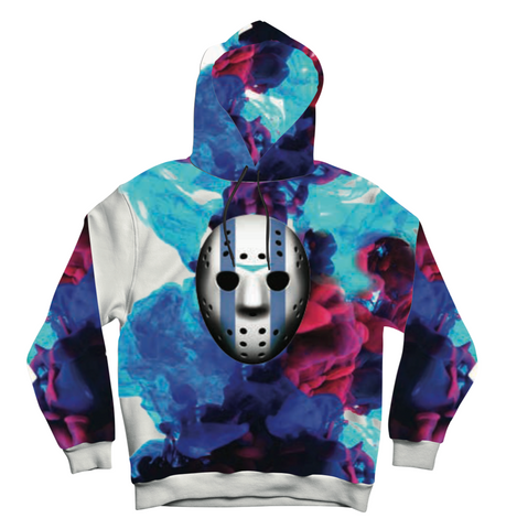 Mask Off Men's Multi Color Hoodie