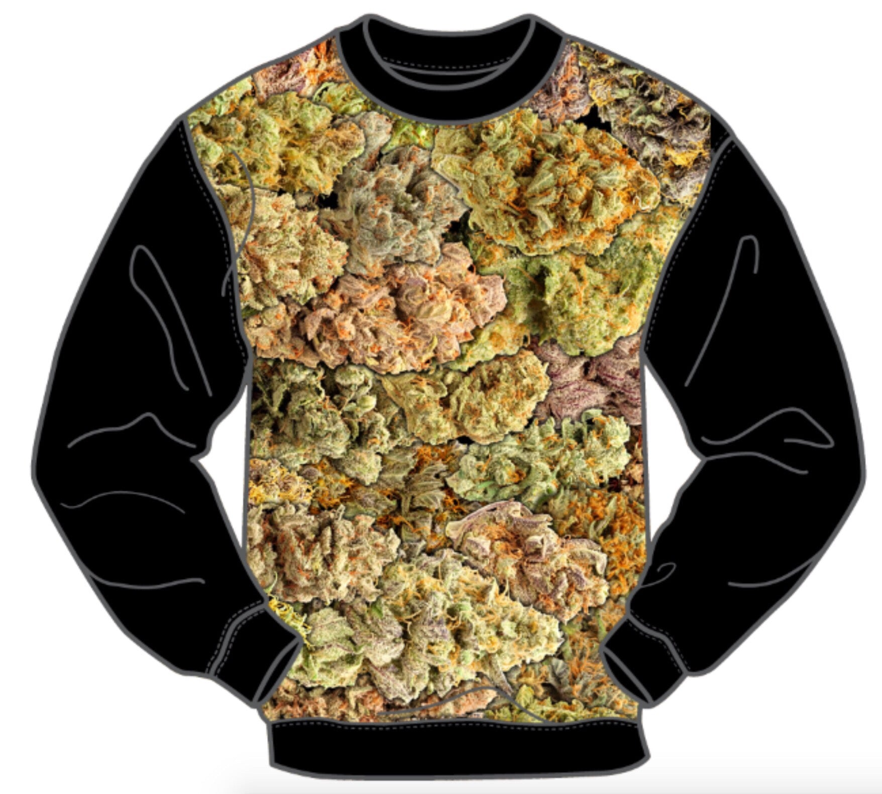 LONG SLEEVE MEN'S NUGGETS CREW SHIRT