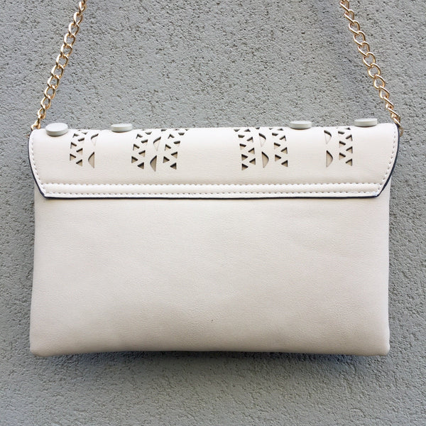 Aria Vegan Leather Clutch Bag - Stranger.Things.Emporium, Vegan Bag