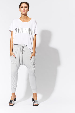 Barrio Drop Crotch Casual Pants - Eb & Ive - Stranger.Things.Emporium, Clothing (Womens) - New