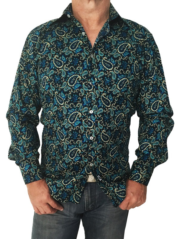 Fathom Cotton Shirt by Jimmy Stuart - Stranger.Things.Emporium, Clothing (Mens) - New