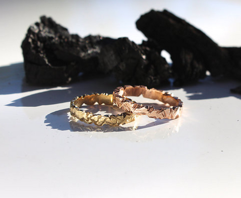 Baby Glacier Gold 1.0 Ring (State of Sonder) - Stranger.Things.Emporium, Jewellery