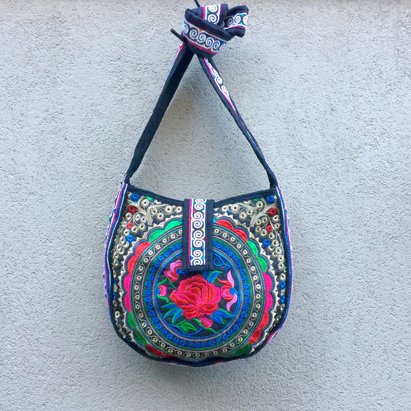 Stormi Embroidered Boho Crossbody Bag - Stranger.Things.Emporium, Bags & Accessories (New)