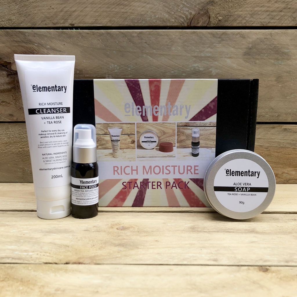 STARTER PACK | Rich Moisture by Elementary - Stranger.Things.Emporium, Bath & Beauty Products