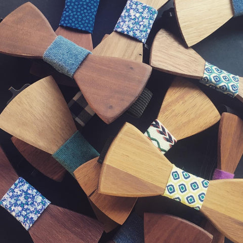 Wooden Bow Ties by Wooden Tie Guy - Stranger.Things.Emporium, Clothing (Mens) - New