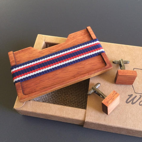 Wooden Card Wallet by Wooden Tie Guy - Stranger.Things.Emporium, Clothing (Mens) - New