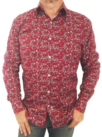 Vespa Cotton Shirt by Jimmy Stuart - Stranger.Things.Emporium, Clothing (Mens) - New