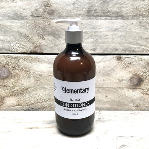 HAIR | Detangling Conditioner with Argan + Jojoba Oils - Elementary Skin Care - Stranger.Things.Emporium, Hair Care