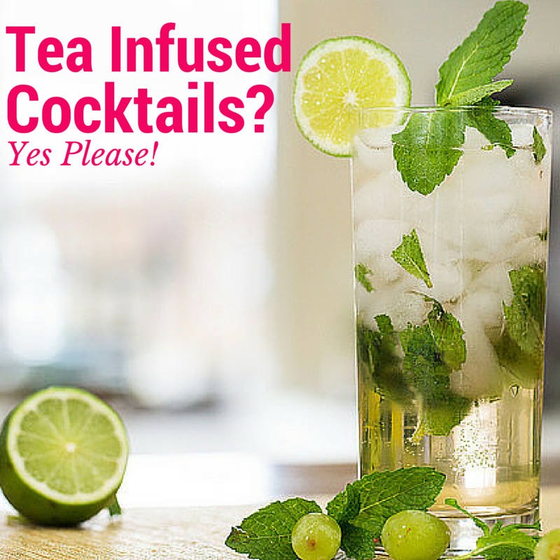3 Ways to Turn Tea into Delicious Cocktails