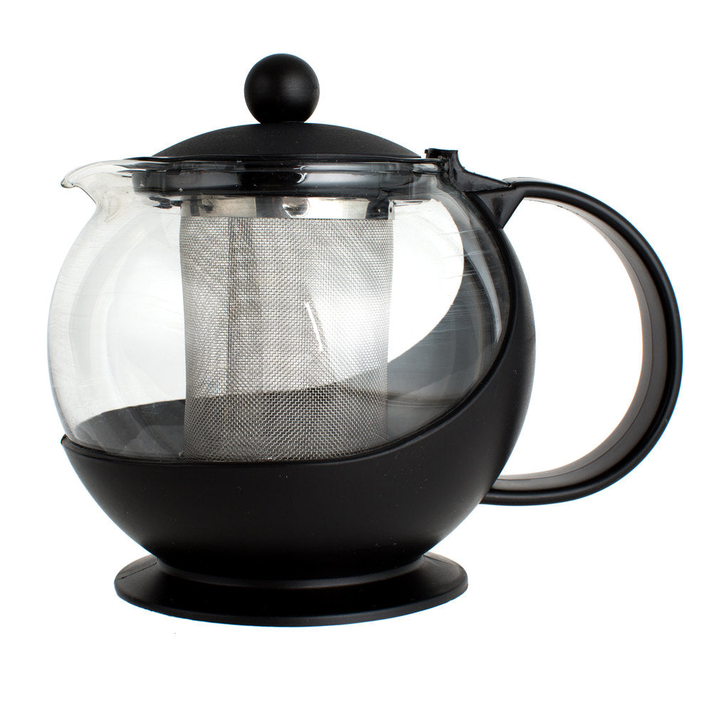 25 oz. Glass Tea Pot Infuser with Stainless Steel Basket