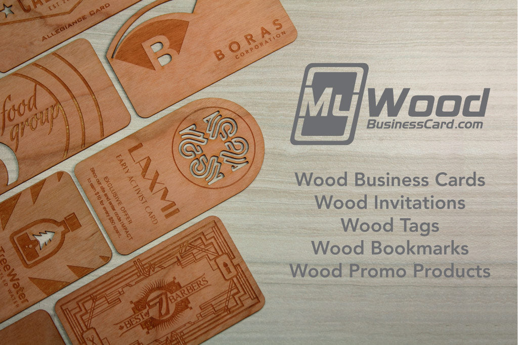 Wood Business Cards from MyWoodBusinessCard.com!