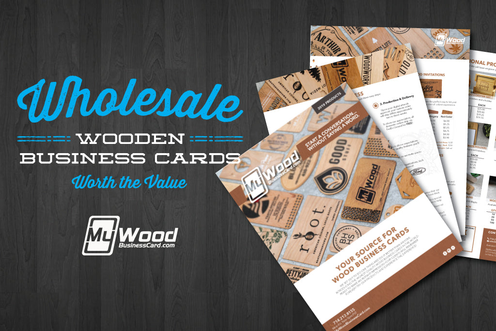 Wholesale Wooden Business Cards Are Worth the Value