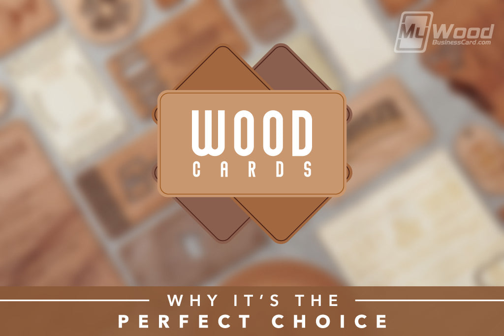 Wood Business Cards – Why It's the Perfect Choice