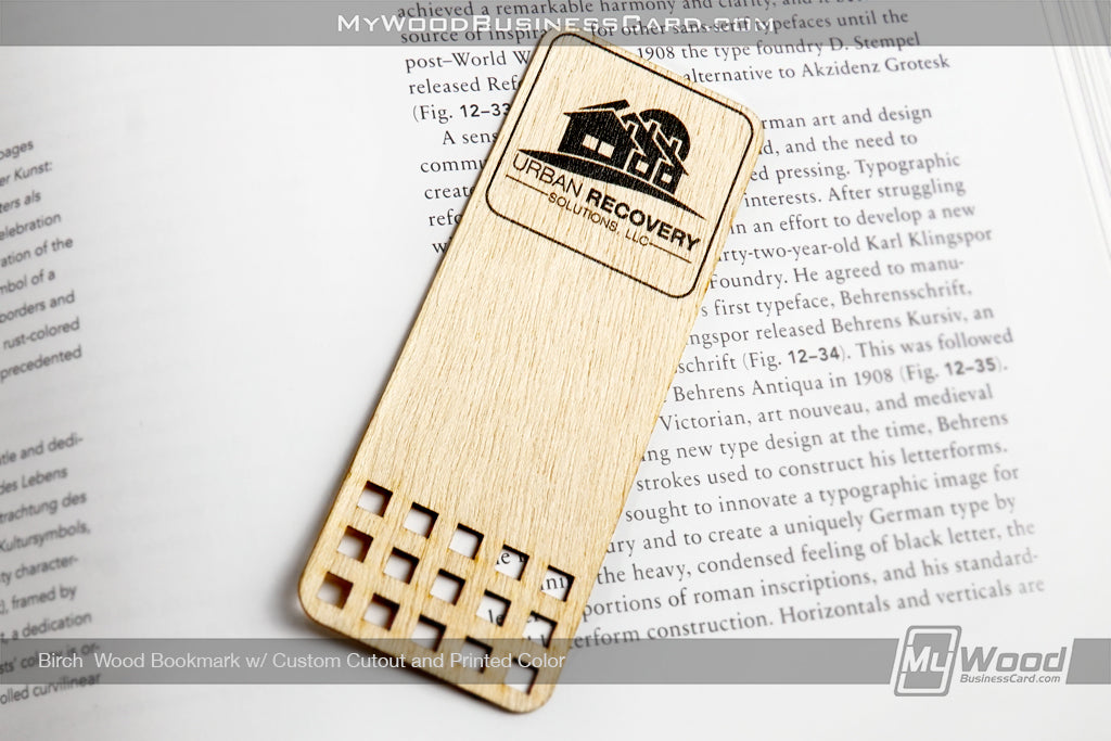 Wood Bookmarks