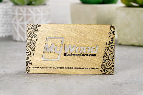 Kiri Wood Business Cards