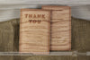 Image of Wood Invitations