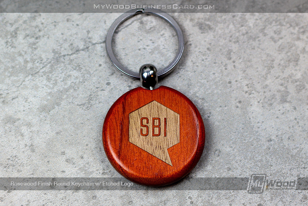Wood Keychains