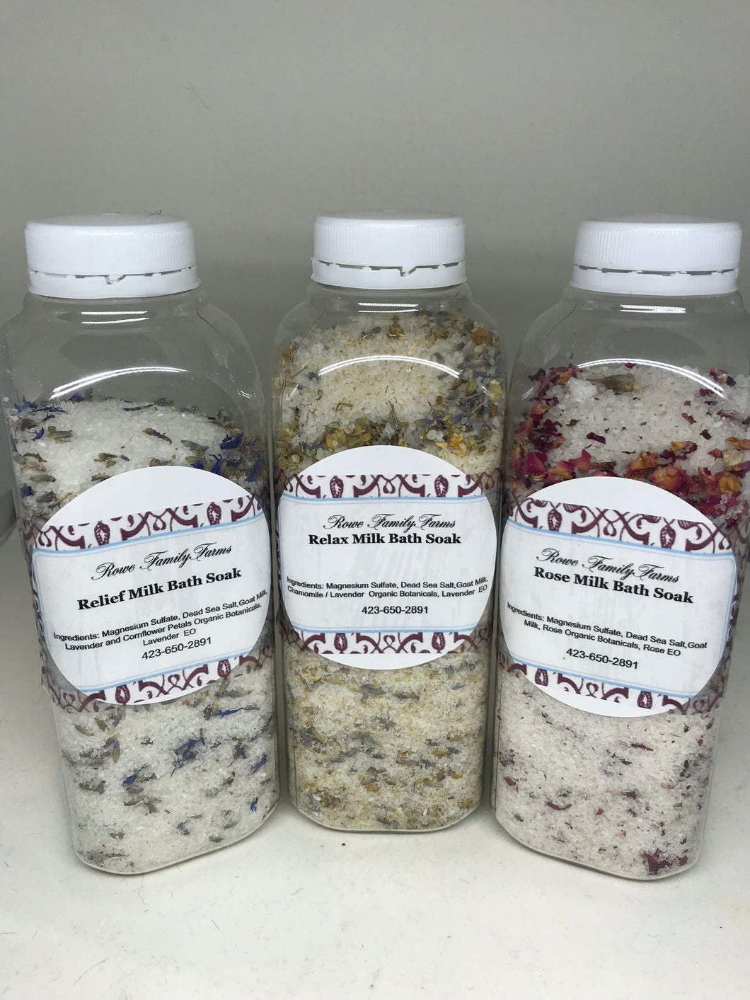Botanical Boat Milk Bath Soak