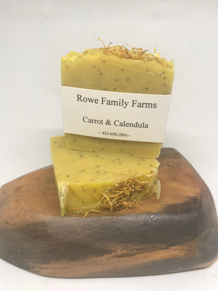 Carrot & Calendula Soap Bar