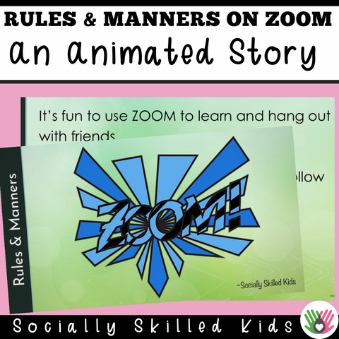Rules And Manners When Using ZOOM || Animated PowerPoint
