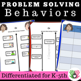 Friendship Behavior Activities || Pack 3 || Personal Space & Problem Solving Behaviors
