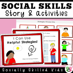 Strategies For Handling Problems || Social Story Skill Builder || Differentiated For K-5th