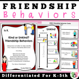 Friendship Behavior Activities | Pack 2