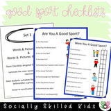 Good Sport Checklists | Differentiated Checklists