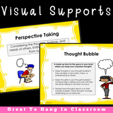 PERSPECTIVE TAKING ACTIVITIES  || Thought Bubble Scenarios || For K-5th