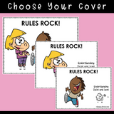 Rules Rock! | Social Skills Story & Activities